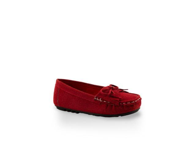 Toddler Girls' Whip-Stitch Accent Flats