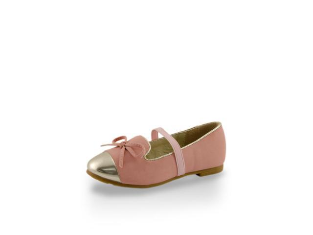 Toddler Girls' Mirror Shoe Toe Slip-On Flats
