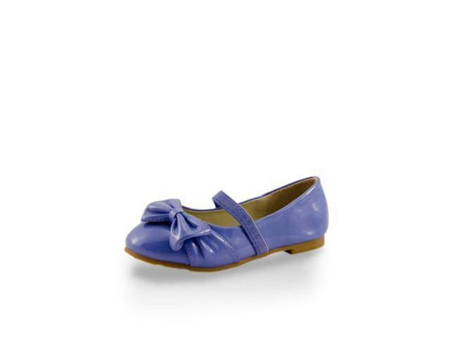Toddler Girls' Elegant Flats with Bow Accent