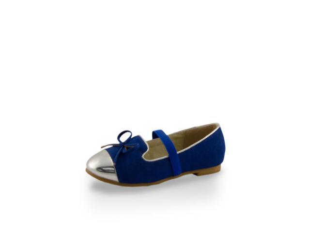 Toddler Girls' Mirror Shoe Toe Slip-On Flats