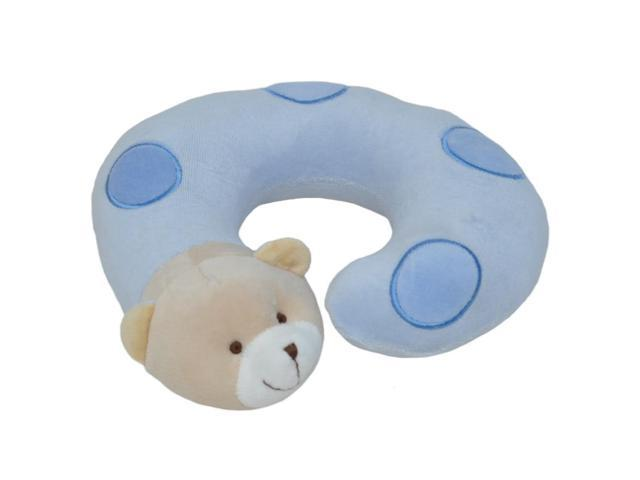 Small Blue Bear Neck Pillow