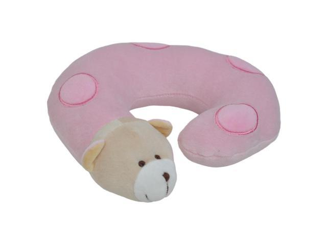 Small Pink Bear Neck Pillow