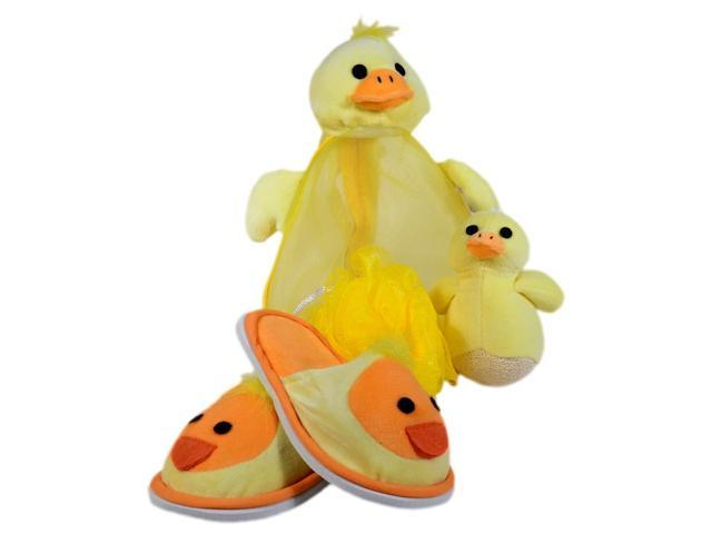Yellow Duck Shower Set