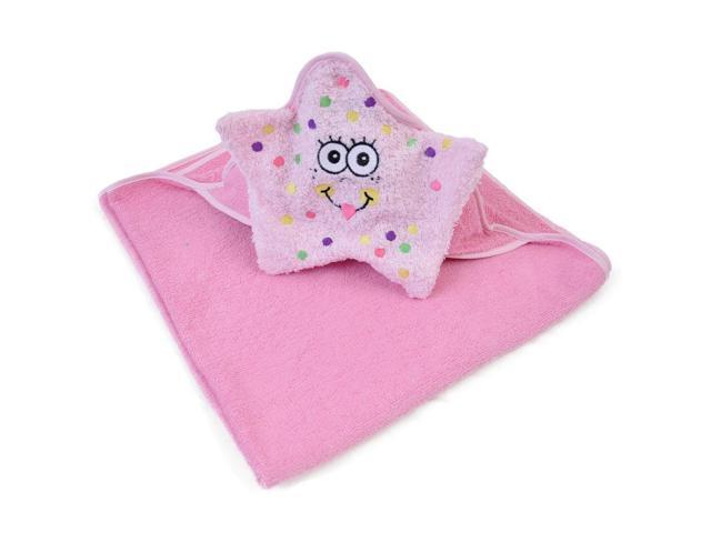 Starfish Hooded Bath Towel