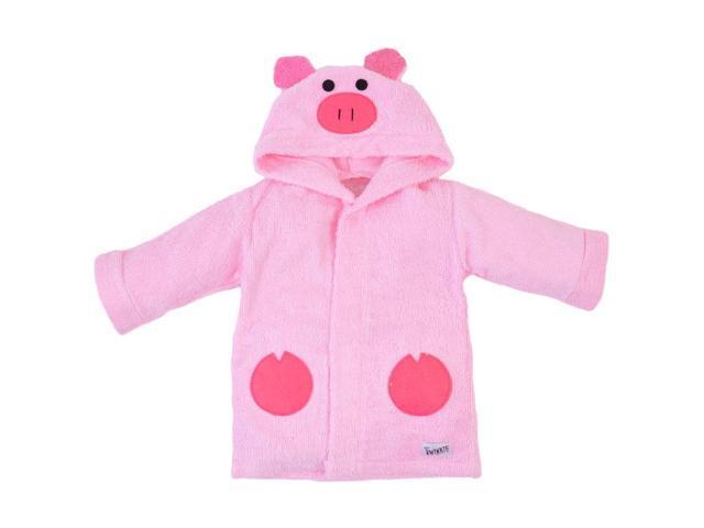Pink Piggy Bath Robe