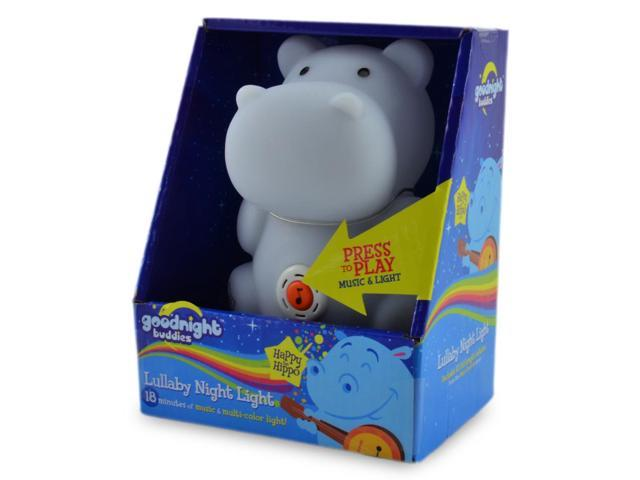 Happy the Hippo Lullaby Night Light