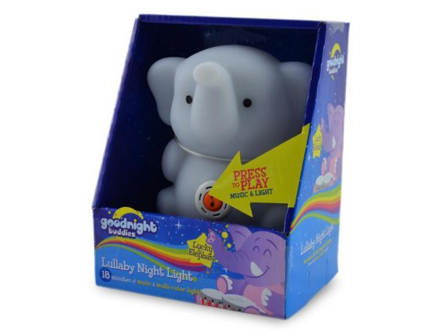 Lucky the Elephant Lullaby Night Light
