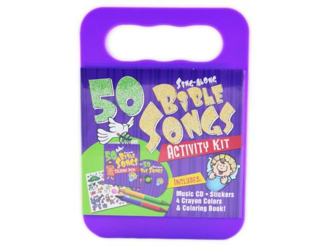 50 Sing-Along Bible Songs Activity Kit
