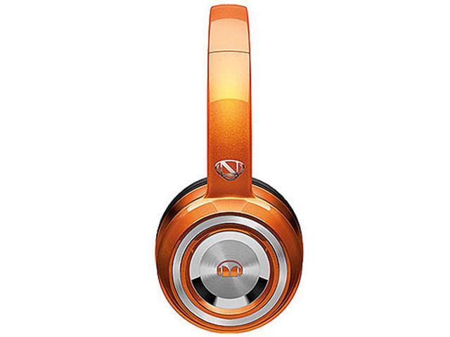 Monster NCredible NTune Candy Tangerine On-Ear Headphones w/ ControlTalk Universal - 128507