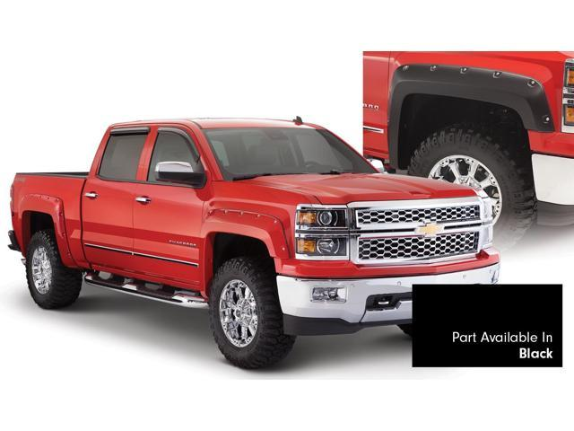 Bushwacker 40959-34 Pocket Style Fender Flares Fits 14-17 Silverado 1500 * NEW *