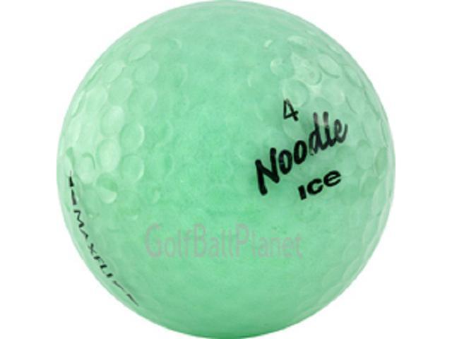 Noodle Ice Mix 120 Mint Maxfli Used Golf Balls - 10 Dozen