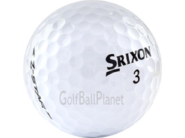 Z-Star White Srixon Men's 3 Piece Construction Used Golf Ball