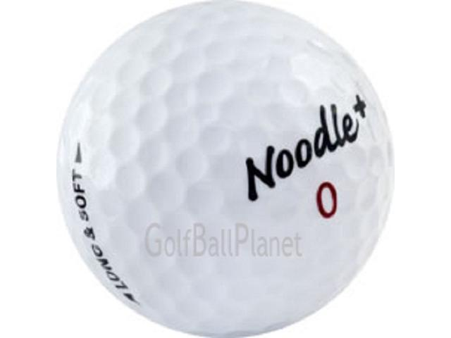 Maxfli Noodle Used Golf Balls In Good Condition 5 Dozen