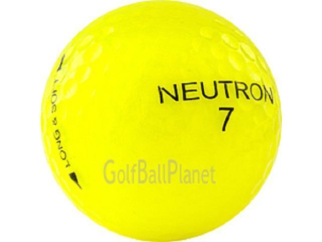 Yellow Mix 72 Mint Used Golf Balls AAAAA - 6 Dozen