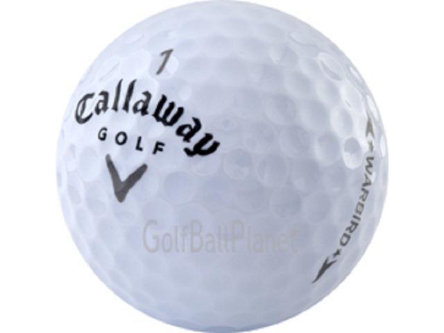 Warbird Callaway Near Mint Used Golf Balls - 5 dozen