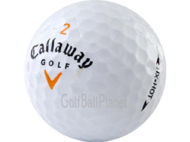 HX Hot 12 MINT Callaway Used Golf Balls + free Tees