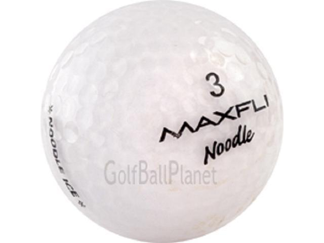 Maxfli Noodle Ice White Used Golf Balls - 2 Dozen