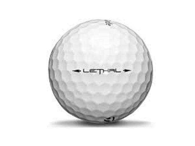 Lethal TaylorMade Used Golf Ball 12pk White