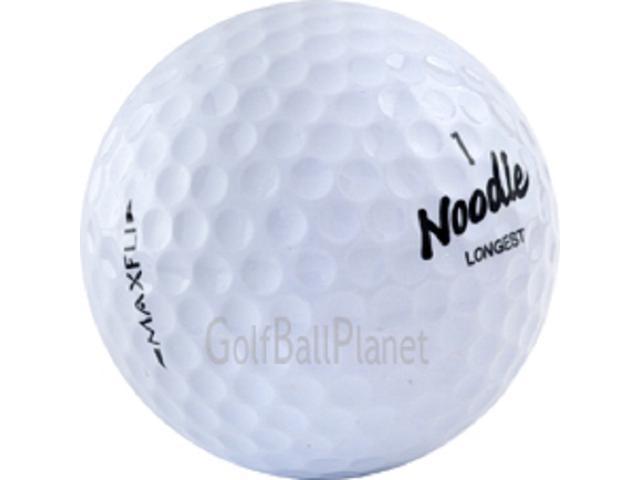 Maxfli Noodle Used Golf Balls In Near Mint Condition 5 Dozen