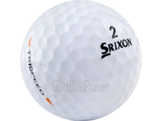 Trispeed Srixon 36 Near Mint Used Golf Balls
