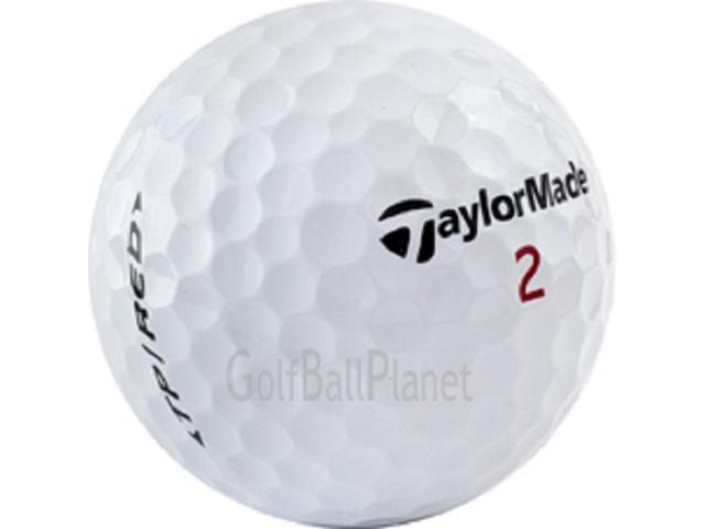 TP Red TaylorMade 2007 1-Dozen Used Golf Balls