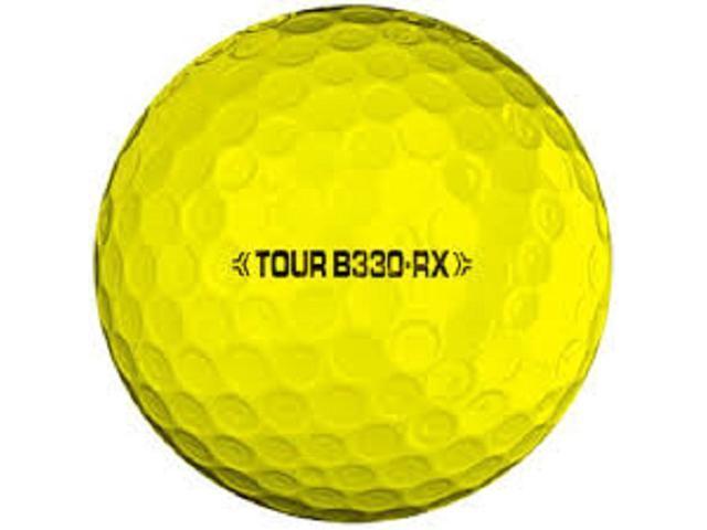 B330 RX Yellow Bridgestone Golf 2012 Tour Used Golf Balls (1 Dozen)