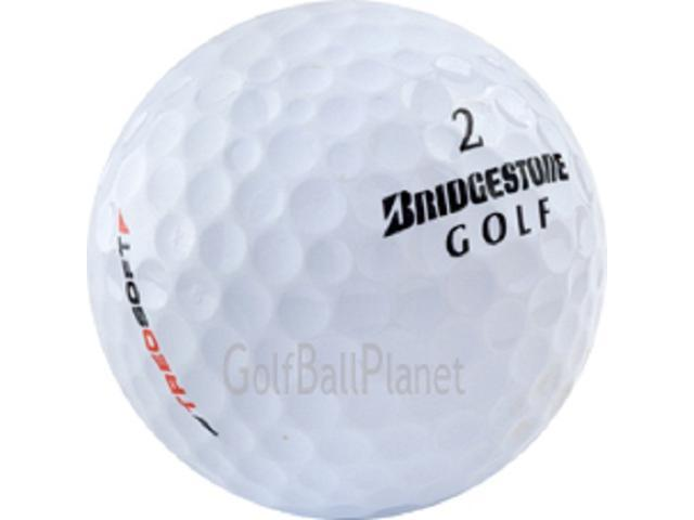 Treosoft 24 Mint Bridgestone Used Golf Balls - Two Dozen
