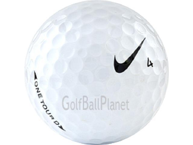 Tour D 60 AAA+ Nike One Used Golf Balls - Five Dozen