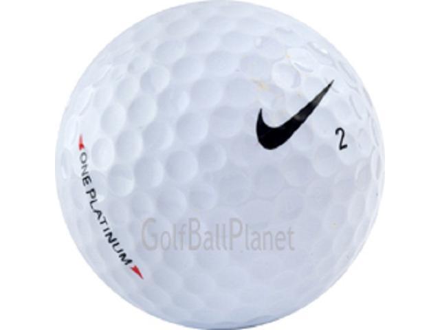Platinum 36 Near Mint Nike One Used Golf Balls - Three Dozen