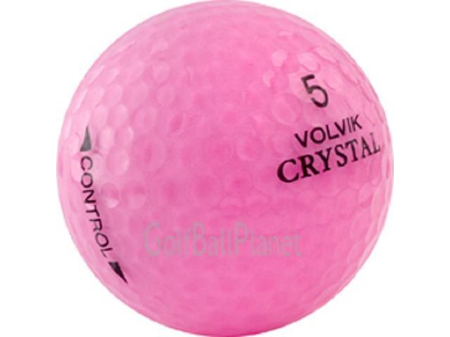 Volvik Crystal Mix Used Golf Balls - 3 Dozen