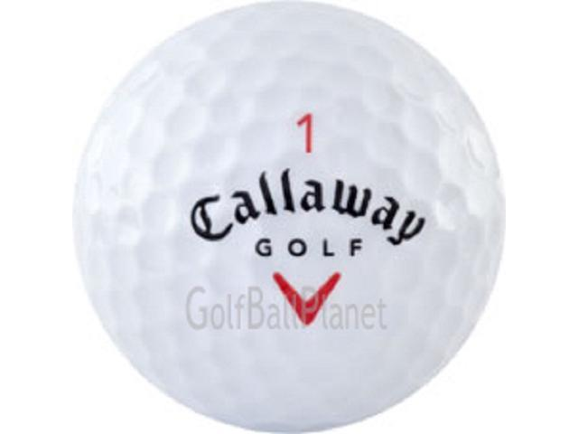 Red Mix 36 Callaway Used Golf Balls in Near Mint Condition - 3 Dozen