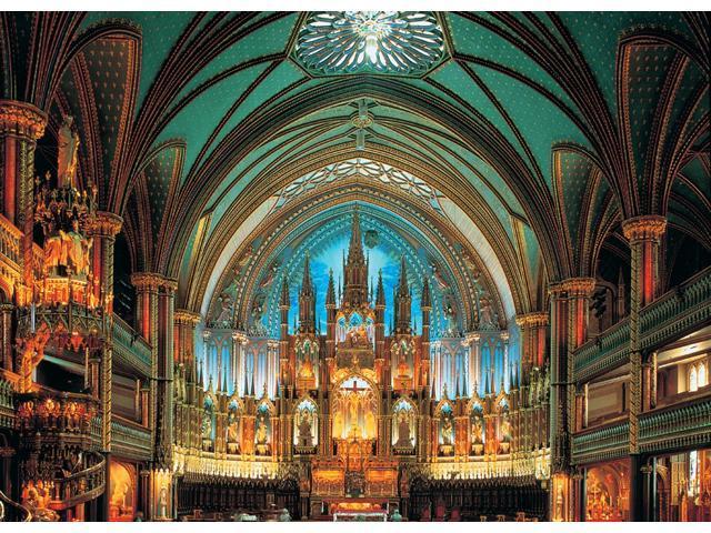 2,000 Pieces Jigsaw Puzzle - Notre-Dame De Montreal, Canada