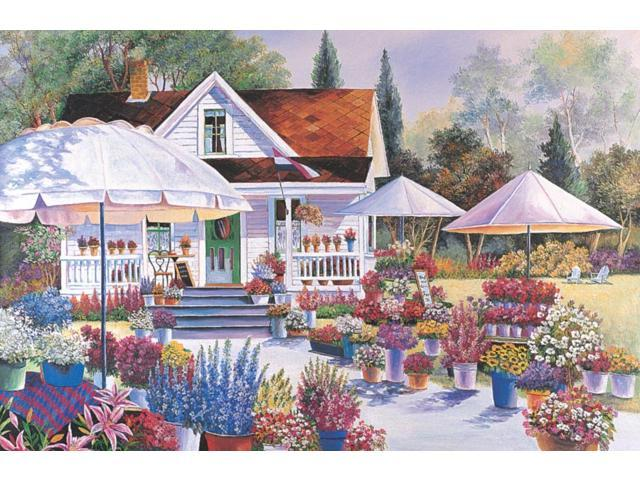 1,500 Pieces Jigsaw Puzzle - Flower House
