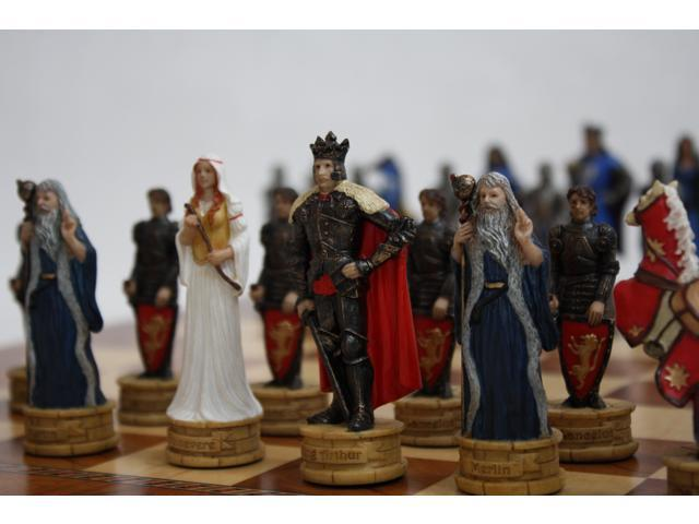 Chess Pieces - King Arthur