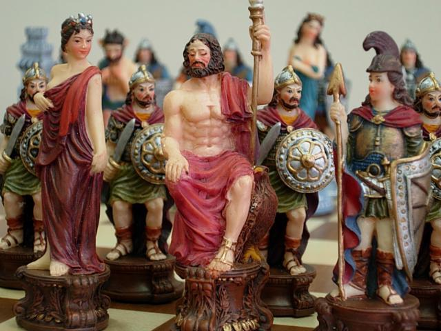 Chess Pieces - Roman and Greek Legendaries