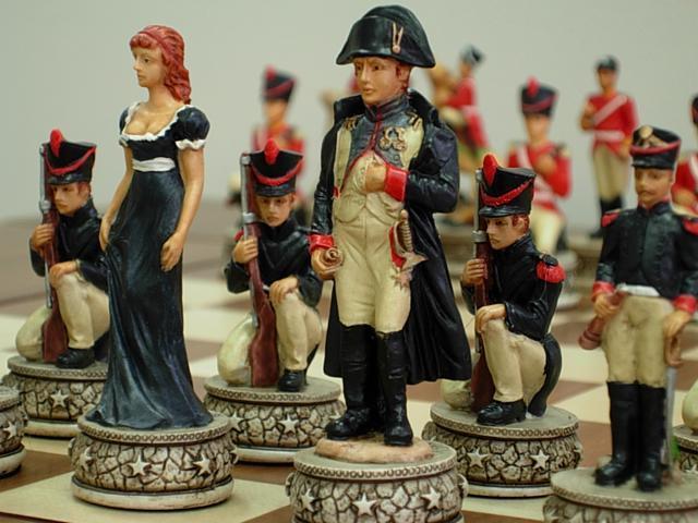 Chess Pieces - Napoleon