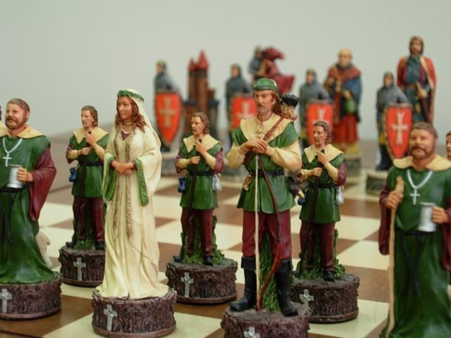 Chess Pieces - Robin Hood