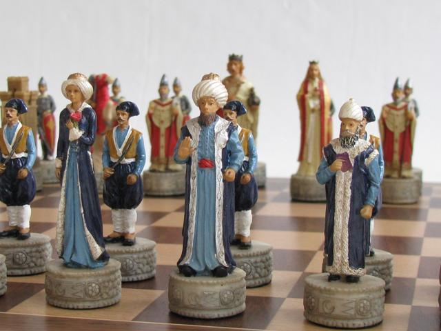 Chess Pieces - First Crusade: Ottoman & Byzantine
