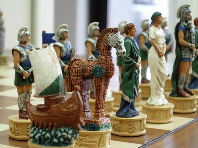 Chess Pieces - Troy