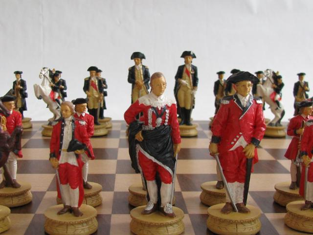 Chess Pieces - Independence War