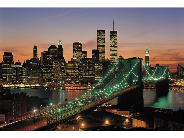 1,000 Pieces Jigsaw Puzzle - New York, USA; Glow-in-the-Dark.
