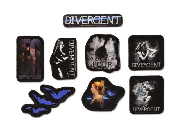 Divergent  - 8 piece Magnet Sheet