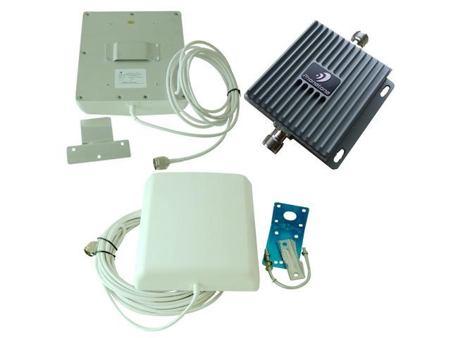 Phonetone AWS 3G 850MHz 1700mhz Dual Band Mobile CellPhone Signal Booster Repeater Extender Amplifier install Kit Fast shipping