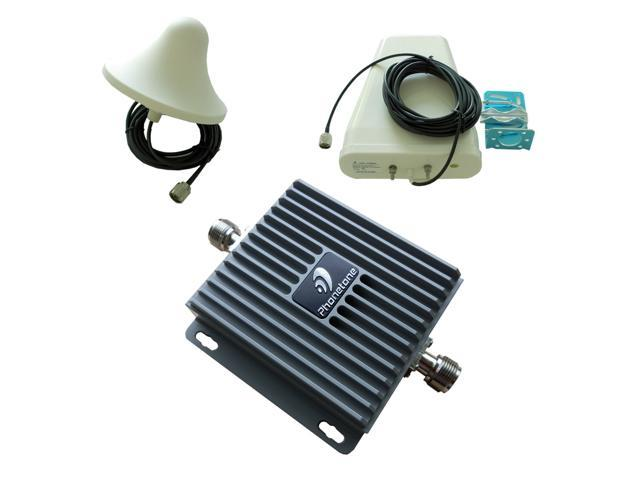 LTE 3G Dual band 850/1700MHz 1.7/2.1GHz AWS band Mobile Cell Phone Signal Booster Repeater Amplifier Extender install Kit ...