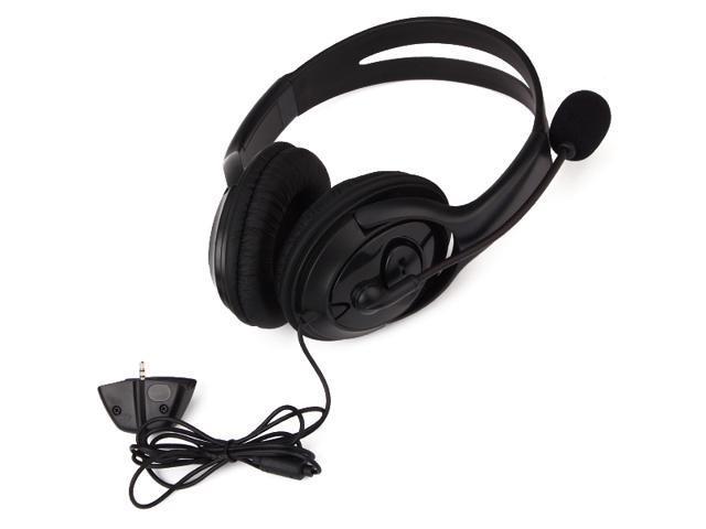 360 Game Audio Stereo Headphone Mute Volume Control 2.5mm Plug