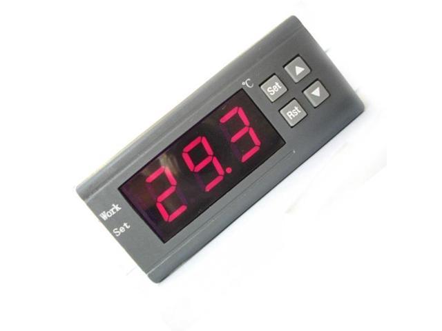 220V Mini Digital Temperature Controller Thermostat Aquarium WH7016H -50~+110 C