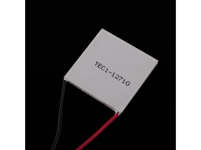 TEC1-12710 91.2W 40mm Thermoelectric Peltier Cooler Plate for CPU Car Drink