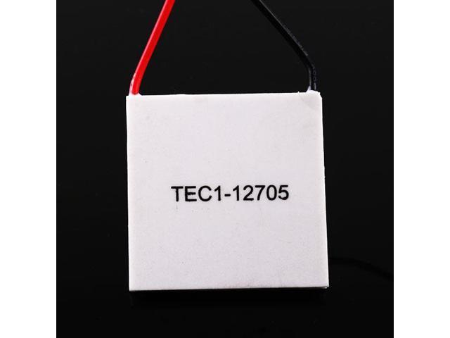 TEC1-12705 42.5W 40mm Thermoelectric Peltier Cooler Plate for CPU Car Drink