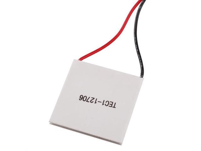 TEC1-12706 51.4W 40mm Thermoelectric Peltier Cooler Plate for CPU Car Drink