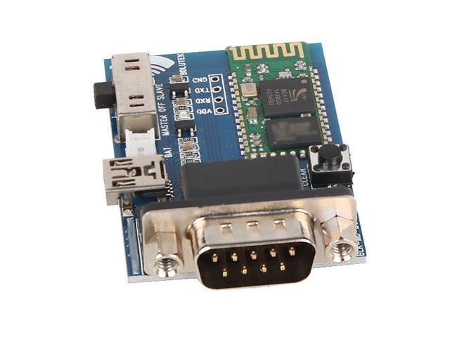 Bluetooth Embedded to RS232 Serial Adapter Communication Module Mini Usb